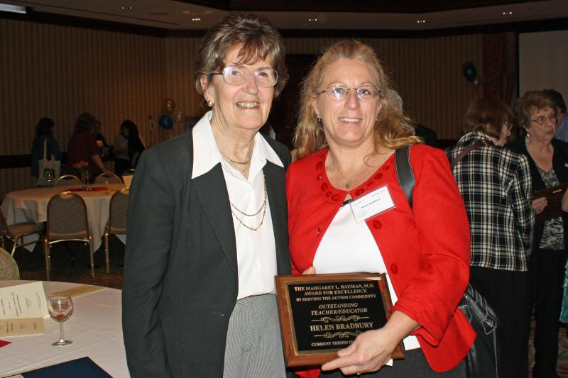 Autism Expert Dr Margaret L Bauman To >> Day School President Receives Award For Excellence In Serving Autism