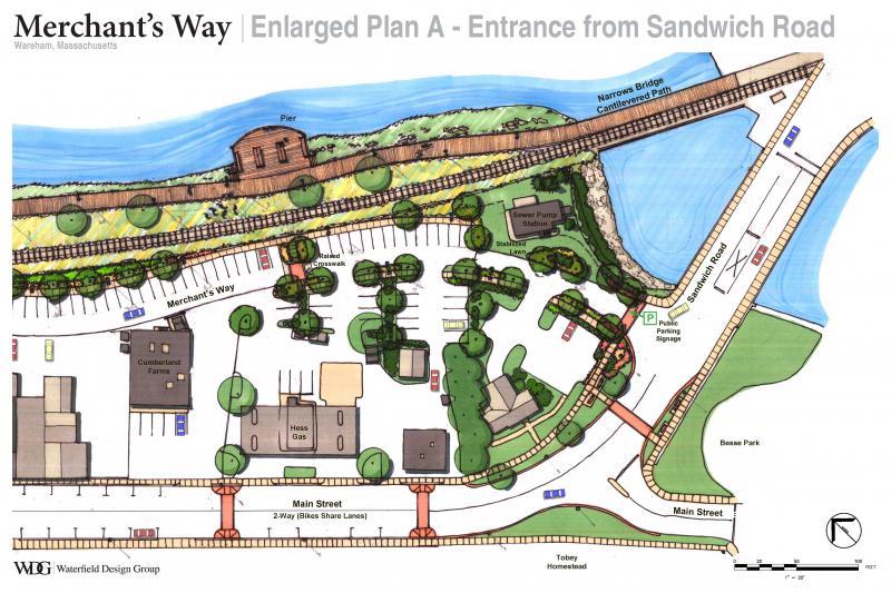Selectmen check out Merchants Way 'concept drawings' | Wareham