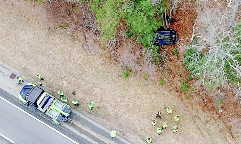 Authorities investigate fatal crash on Route 195 in Wareham