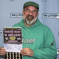 Onset man wins a lucky million dollar ticket | Wareham