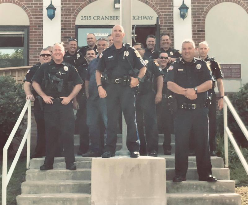 Wareham Police Officer Retiring After 32 Years   Wareham