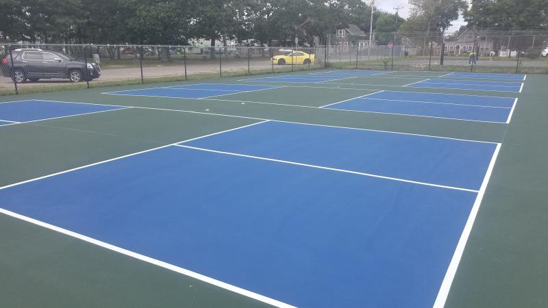 Pickleball Courts at Hammond