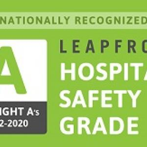 Leapfrog A Hospital Safety Grade